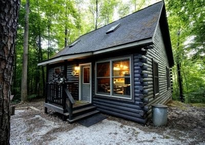 rustic hideaway cabins